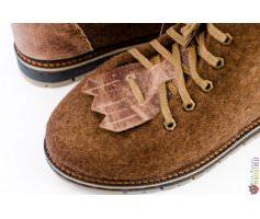 Ботинки ручной работы мужские Lumberjack с вставками из кожи