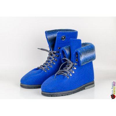 Ботинки мужские ручной работы с манжетами