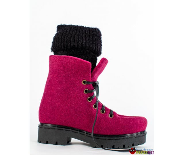 ботинки на заказ ручной работы фиолет
