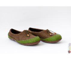 Тапочки со шнурками Вождь Команчи