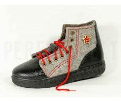 Мужские войлочные кроссовки Звезда